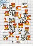 abecedarios punto de cruz. (733)