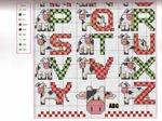 abecedarios punto de cruz. (701)