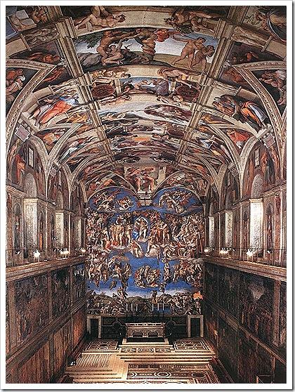 renaissance-sistine-chapel-art