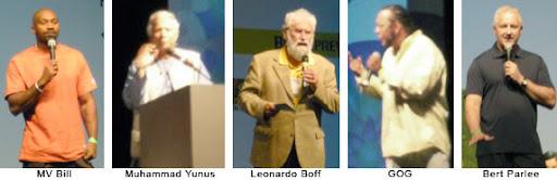 coluna zero, comunicação, sustentabilidade, forum, lucian tarnowski, gog, mv bill, tia dag, leonardo boff, muhammad yunus