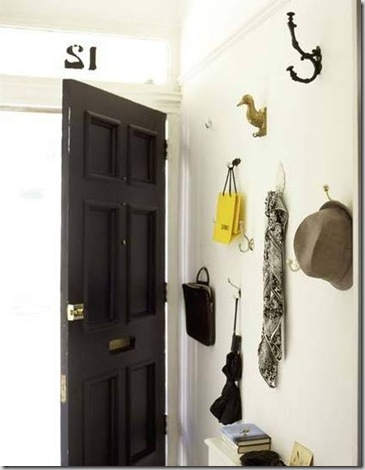 living_etc_black_door_Halway-with-hooks_rect540 Apartment Therapy