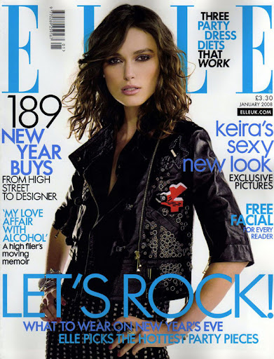 Keira Knightley Elle Magazine January 2009