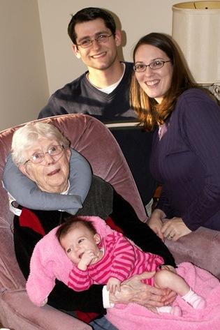 Elaine Meets Great-Grandma Hamilton