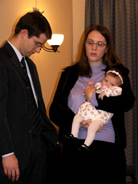 Elaine Baby Dedication