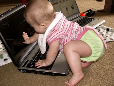Elaine 6 Months Computer Geek