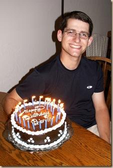 Ben's 24th Birthday