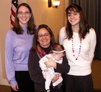 Elaine 10 Weeks Hamilton Family