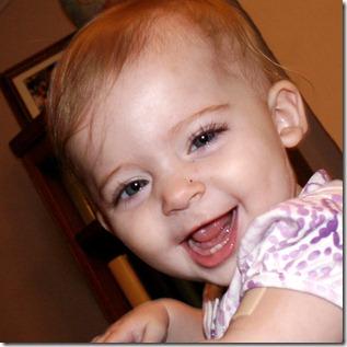 Elaine 9 months bumGenius 4.0 diaper