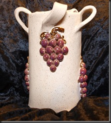 Grape Vase back