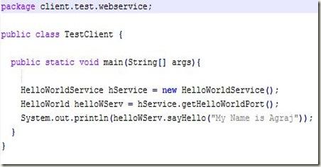 jbossws client