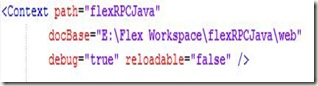 flexRPCJavaXML