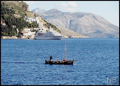 Dubrovnik drvana barka DB-413 ED