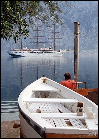 Brunova barka i jedrenjak ED
