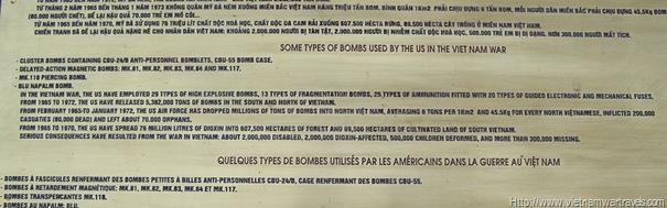 Vietnam Military History Museum Vietnam War American Bombs (2)