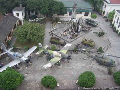 The Vietnam Military History Museum Hanoi