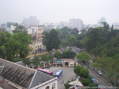 Hanoi Citadel Cot Co (Flag Tower) View
