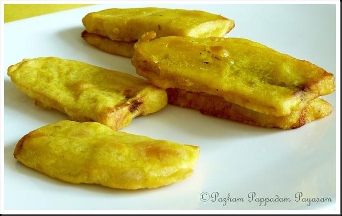 Pazham pori/ Ripe plantain fritters