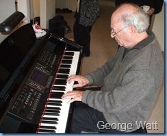 George Watt on the Clavinova