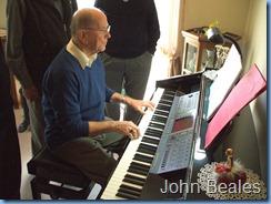 John Beales on the Clavinova