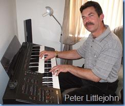Peter Littlejohn playing the Yamaha Electone EL15 organ