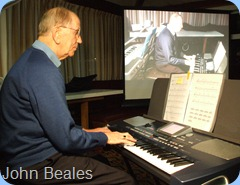 John Beales played four great arrangements for us on his Korg Pa500
