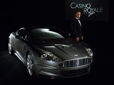 Daniel Craig, Aston Martin DBS, Casino Royale