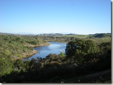 Peters canyon reservoir