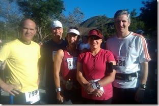 Fontana half marathon start area2