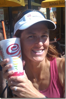 post-run Jamba Juice