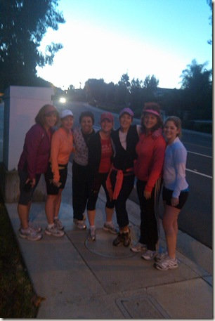 early morning running gals