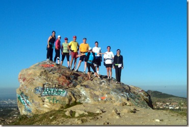 Santiago Oaks group run 2