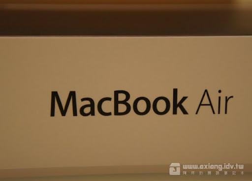 [NB] 我的第一台水果電腦-MacBook Air 13吋開箱與使用小心得分享!