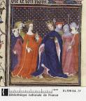 1380s manuscript, Paris, folio 19