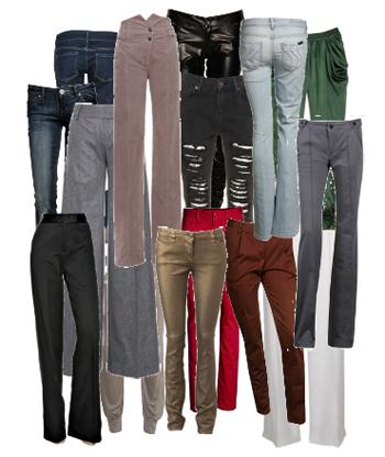 PANTALONES PARA MUJER. Distintos modelos de pantalones. Como elegir el ...