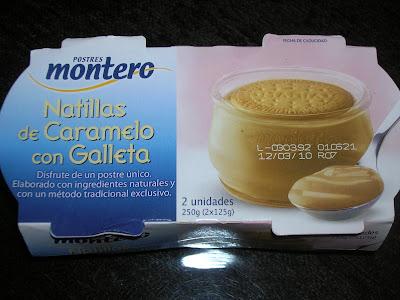 Natillas de caramelo con galletas Montero. Foto: Esta-delicioso, donde te recomendamos cosas buenas* www.esta-delicioso.blogspot.com