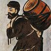 N. Pirosmani. Musha with a Burrel.