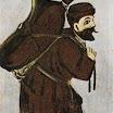 N. Pirosmani. Musha with a Wineskin.
