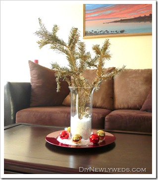Christmas Branch Centerpiece