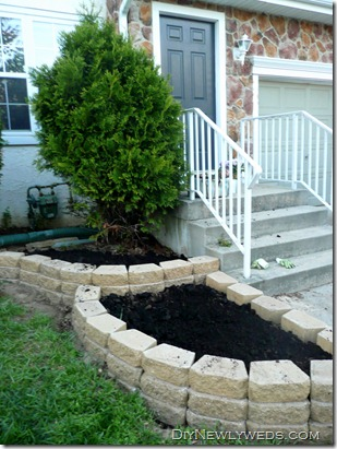 front-yard-landscaping-wall
