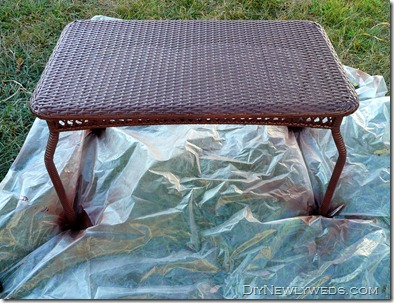 Spray Paint Plastic Wicker Patio Table Part 43