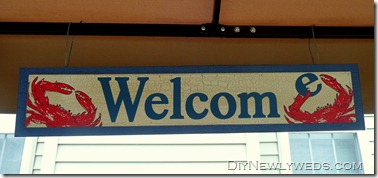 crab-welcome-sign
