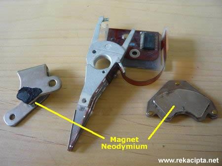 Rekacipta.net - Magnet Neodymium Hard Disk
