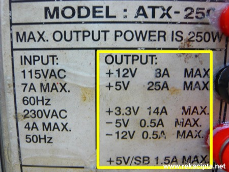 ATX regulated dc power supply2