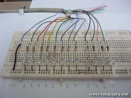 Rekacipta.net - pendawaian litar LED