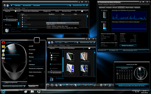 free download theme win 7 keren