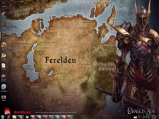 Dragon Age Origins Windows 7 Theme With Its Sounds ,Icons & Cursors
