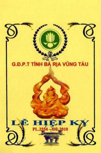 Hiệp Kỵ 2010 GĐPT tỉnh Bà Rịa Vũng Tàu