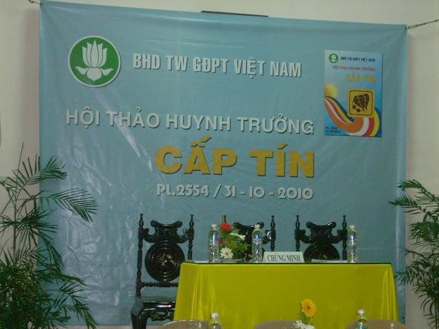 Tham dự Hội thảo HT cấp Tín toàn quốc