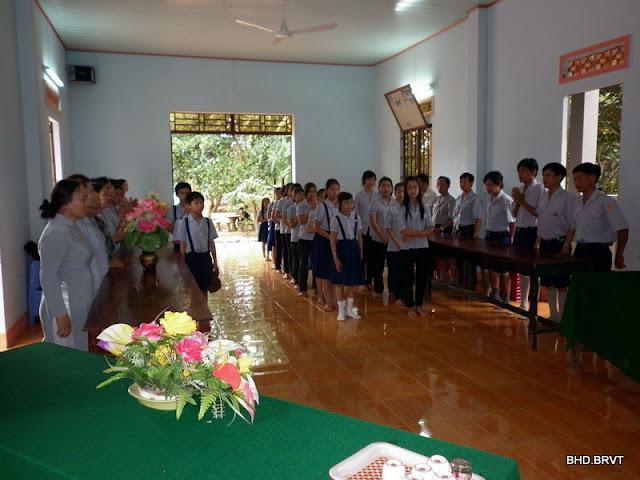 Lễ tổng kết sinh hoạt GĐPT Khánh Kim – 2010