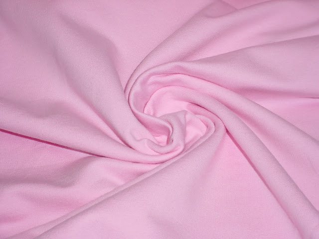 Baby Pink French Terry w/Spandex